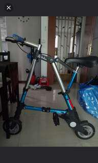 Fordable bicycle ( A Bike)