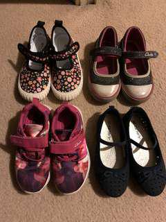 Girls casual and dress shoes - sizes US5