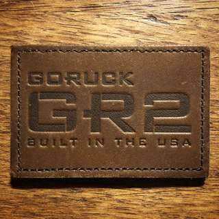 GoRuck GR2 Leather Patch
