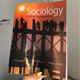 "SELLING ""Sociology A Brief Introduction: 6th edition"""