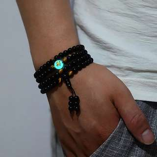 GELANG MANIK Glow ing in the dark Religius Antik Unik Gaul Hot Trendy