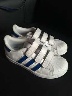 Boys Adidas Superstar Eur 33