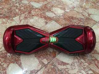 Red hover board (with case included)