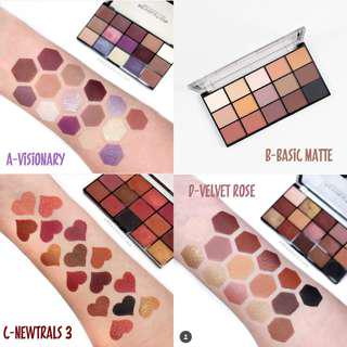 Revolution Re-Loaded palettes II