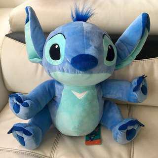 New With Tag. Disney Stitch Velvety Soft Toy