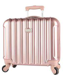 Kensie Rose Gold Carry-on Luggage