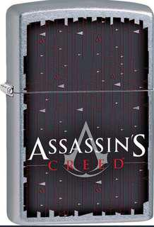 🚚 Authentic Zippo Assassin's Creed Lighter