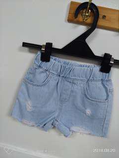 🚚 韓國童裝  牛仔短褲