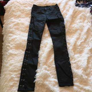 RES Denim black skinny jeans