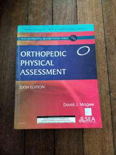 Magee Orthopedic Physical Assessment