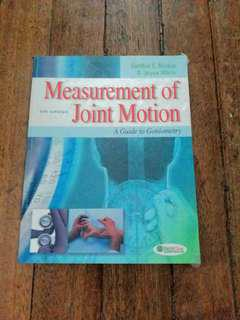 Norkin Measurement of Joint Motion