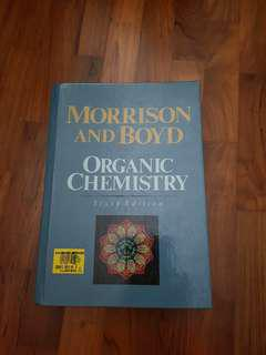 Organic Chemistry Morrison and Boyd