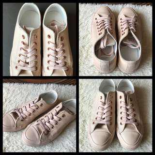 CONVERSE All Star Leather Pastel Sneakers