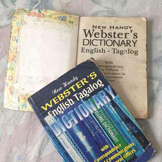 Webster's English Tagalog Dictionary