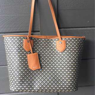 Authentic Bally classic tote bag
