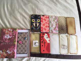 Preloved Take All 11 pcs Iphone 6/6s Cases