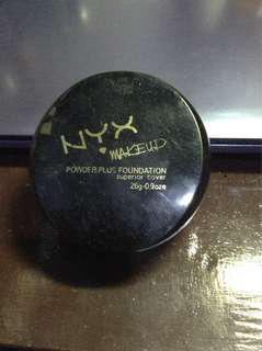 Bedak Powder plus foundation NYX