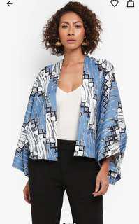 Syomirizwa Gupta Batik Print Oversized Outerwear