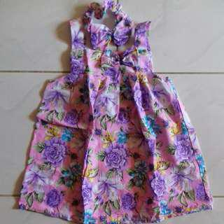 #maucoach Baby Dress Flower