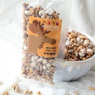 [PRE-ORDER] Hearties Puffs 100% Whole Grains - Puffed black glutinous rice, quinoa, job's tears and wheat
