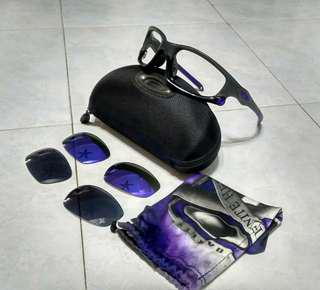 💯% Original Oakley Split Jacket (Nego Special Price) w/t Soft bag, Hardcase and Extra HDO lense