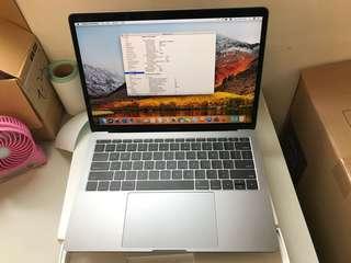 """98%New MacBook Pro 13"""" 256GB 8GB 2.3GHz i5 Grey, Warranty date24-6-2019"""