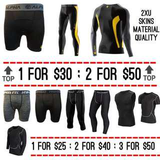 Pro Combat Compression Tights Wear High Quality
