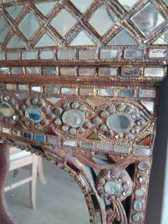 Hanging Mirror mosaic artifact