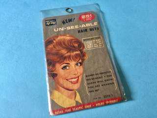 1960s Vintage Hair Net Hair Accessory 古董 女士 髮飾