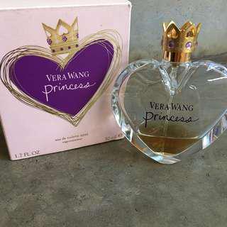 🆓Postage !!! Authentic Vera Wang Princess 50ml Perfume