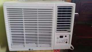 LG Window Type 1HP almost Brand New For pickup only