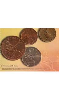 COMMONWEALTH SERIES COINS SET