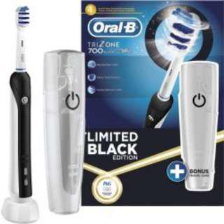 Oral B Trizone 700 Limited Black Edition Electric Toothbrush