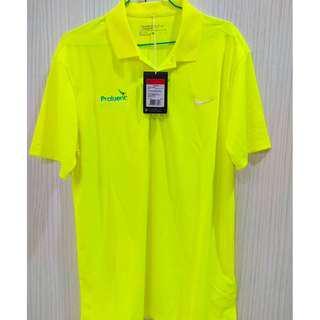 【NIKE GOLF】男 短袖 上衣 POLO衫(螢光黃749333-702)
