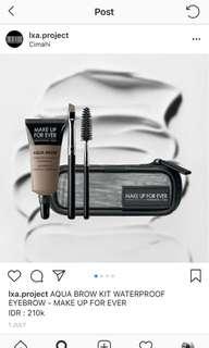 Make up for ever aqua brow kit