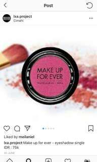 Make up for ever eyeshadow single