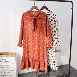 Dress (Brown)