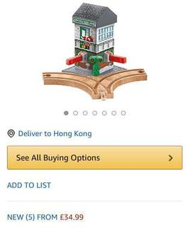 英國直送:半價售50% off Thomas & Friends Wooden Railways 湯馬士火車頭木系
