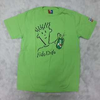 American Boulevard 7-11 Fido Green T-shirt Unisex