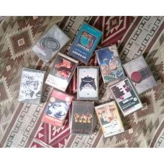 kaset tape jadul vintage borongan