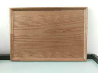 Korea Acacia Wooden Tray 韓國木製食物盤.擺盤.茶盤
