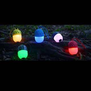 Firefly Wireless Bluetooth Speaker  Light Portable Outdoor Speakers Mini Nightlight Creative Audio