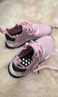 Pink adidas boost shoes
