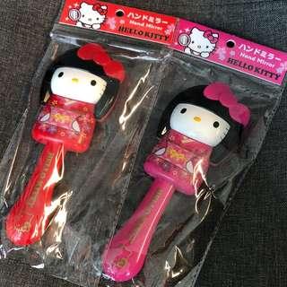 Hello Kitty 手鏡 日本限定