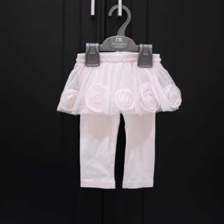 Gingersnaps Pink Tutu Legging for 6 months