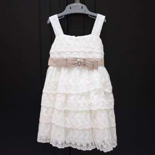 White Lacey Dress for 1 years Old