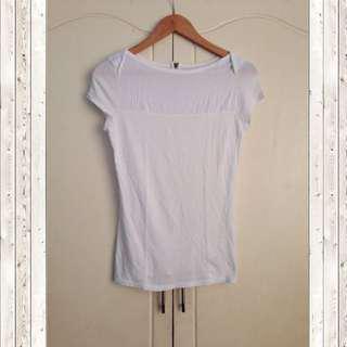 Merona white blouse