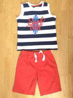 Mothercare top and bottoms