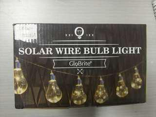 Solar Wire Bulb Lights