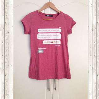 FB Sister Pink blouse